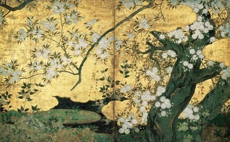 出典元ウィキペディア 桜楓図のうち桜図(部分)