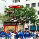 祇園祭の前祭山鉾巡行で市場麸屋町で行われるのは?