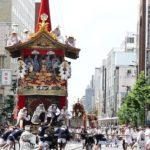 祇園祭前祭の山鉾巡行で、長刀鉾が2回目の辻廻しを行う場所は?英検3級過去問!