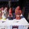 初午の日に、伏見稲荷大社に参拝して買い求める伏見人形は?京都検定3級過去問!